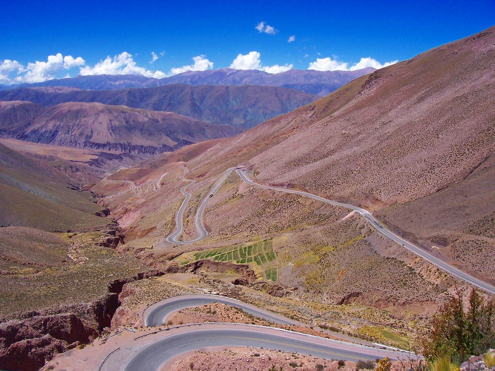 Mountain Pass in Argentina
