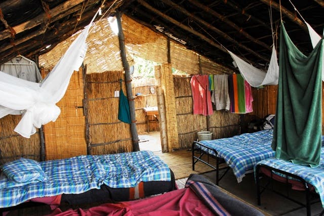 Room in North Luangwa National Park