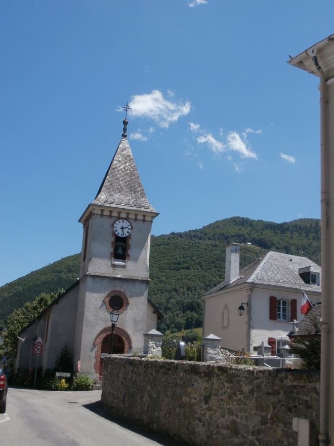 Town in Arrens-Marsous