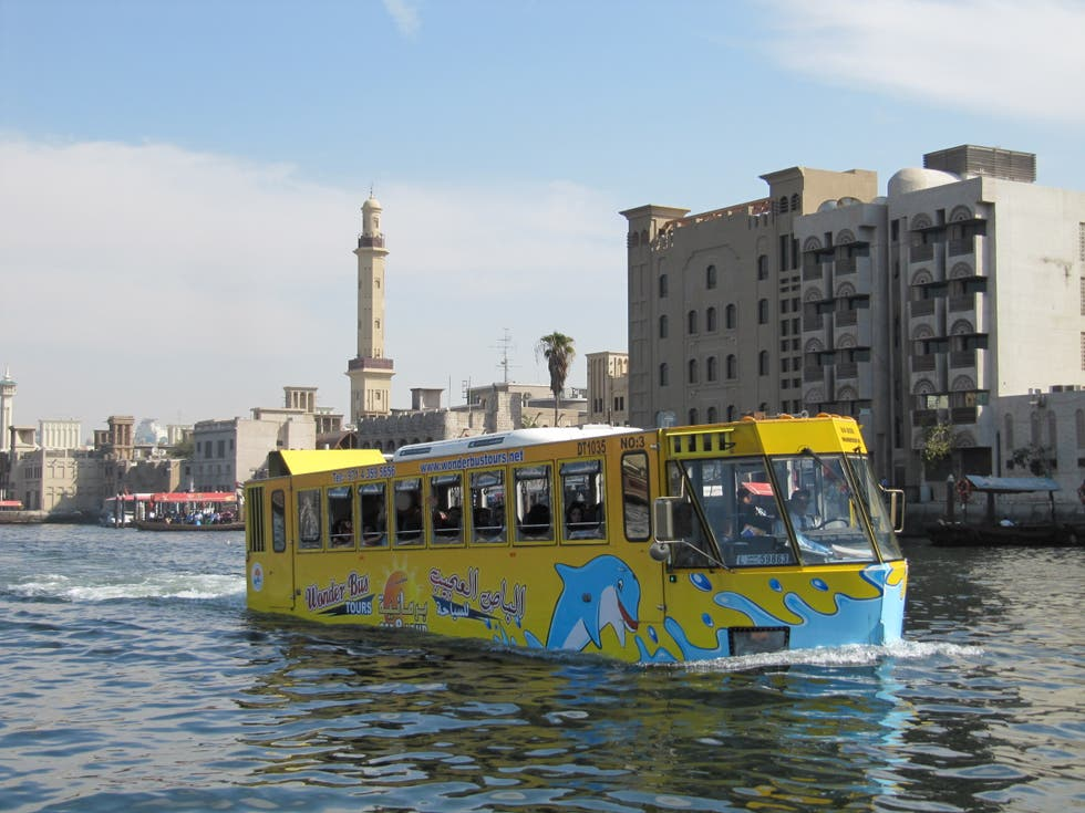 Ferry en Dubai Creek