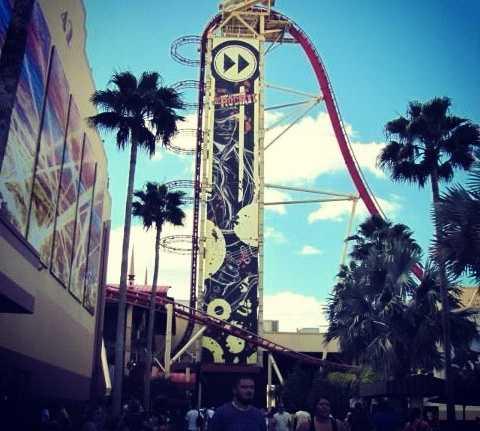 Parque de atracciones en Universal Studios Orlando