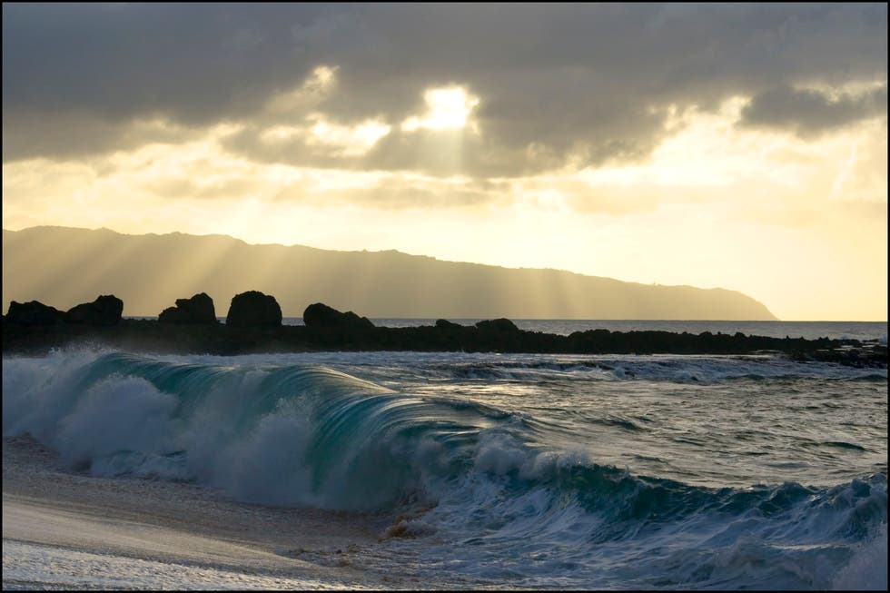 Sea in Haleiwa