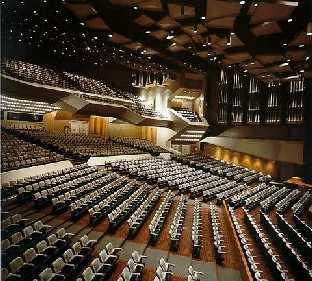 Auditorio en Teatro Teresa Carreño