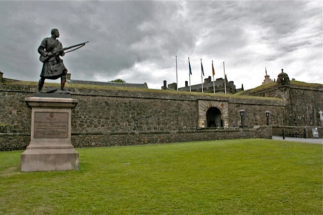 Monumento en Castillo de Stirling