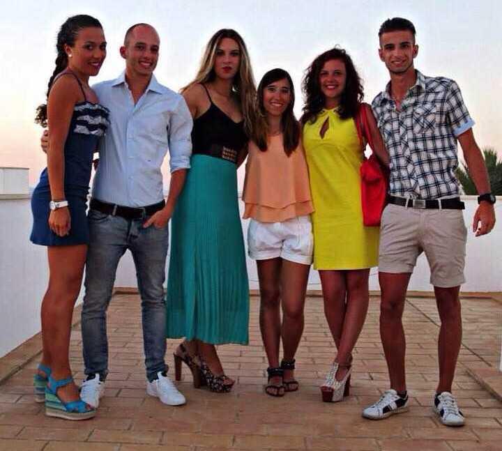 Grupo en Restaurante S'Avaradero
