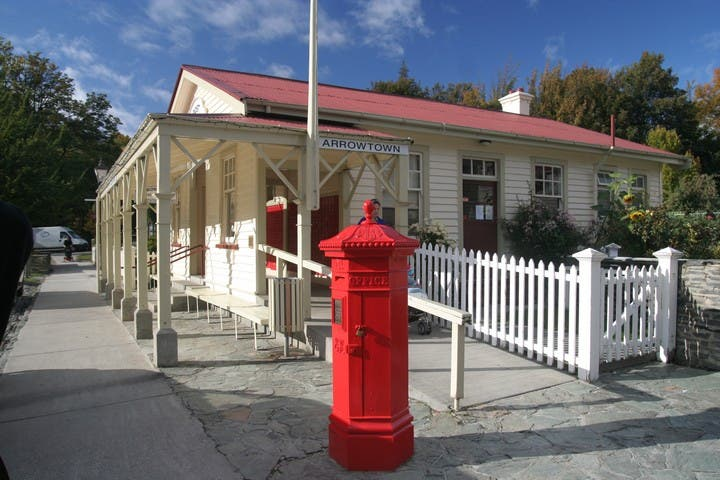 Rojo en Arrowtown