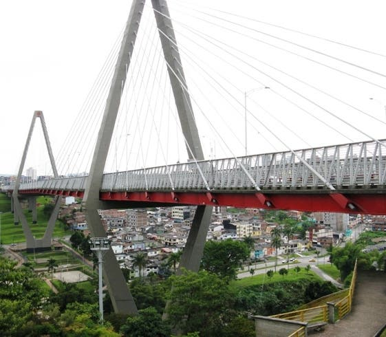 Truss Bridge in Risaralda