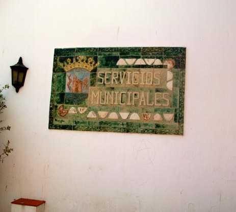 Pared en Delegación Ayuntamiento de Marbella