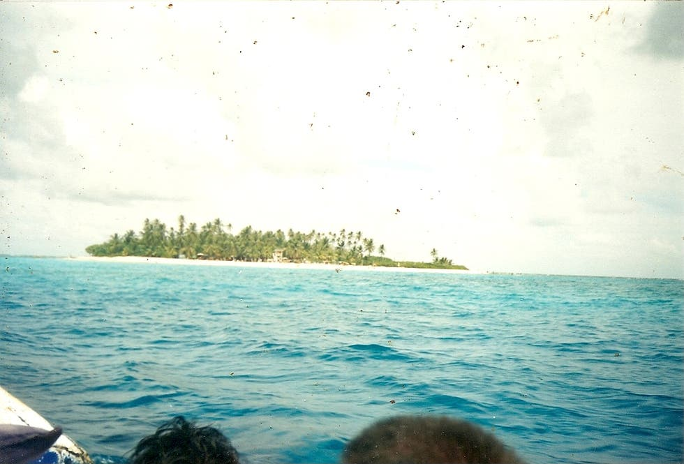 Sea in San Andres Island
