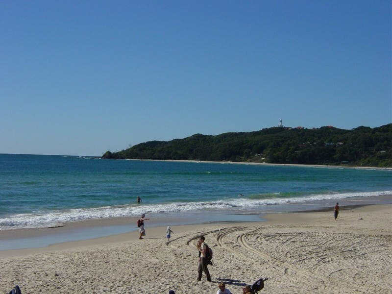 Mar en Byron Bay