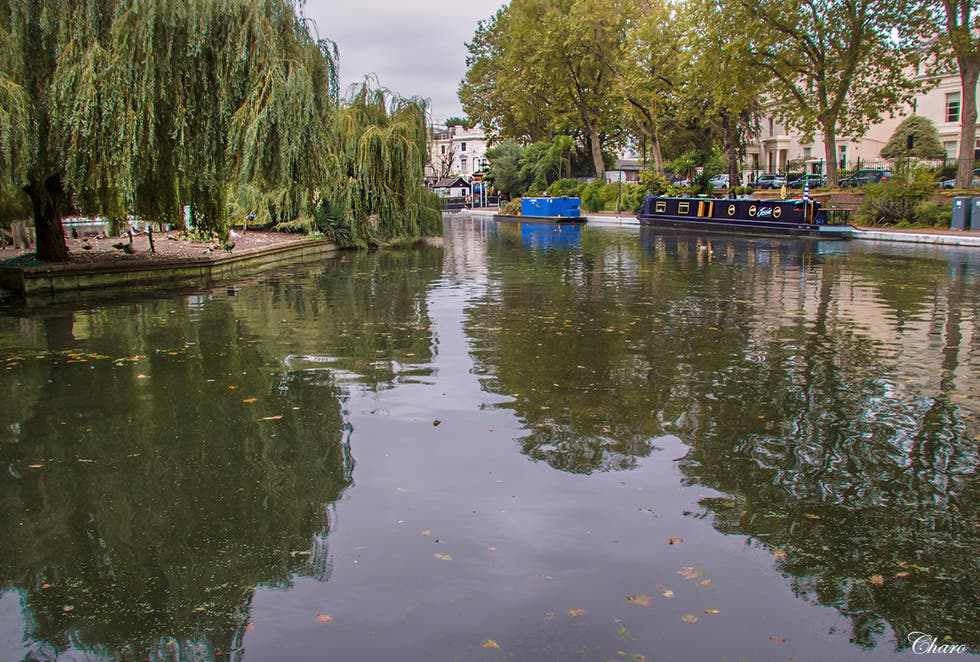 Reflejo en Little venice Londres