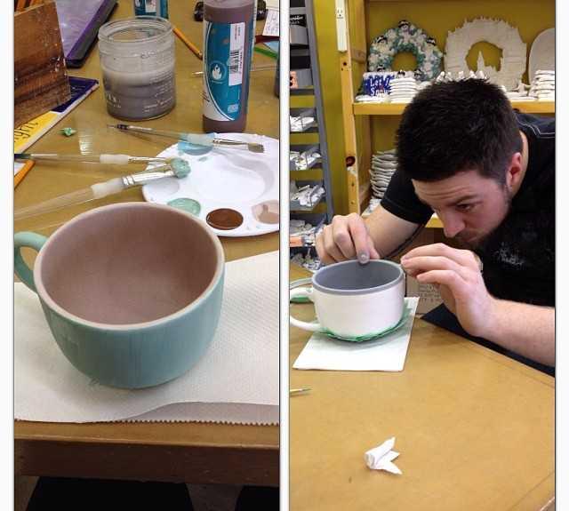 Jugar en Pintar cerámica en Clayground