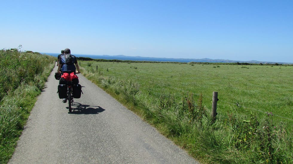 Cycling in Broad Haven