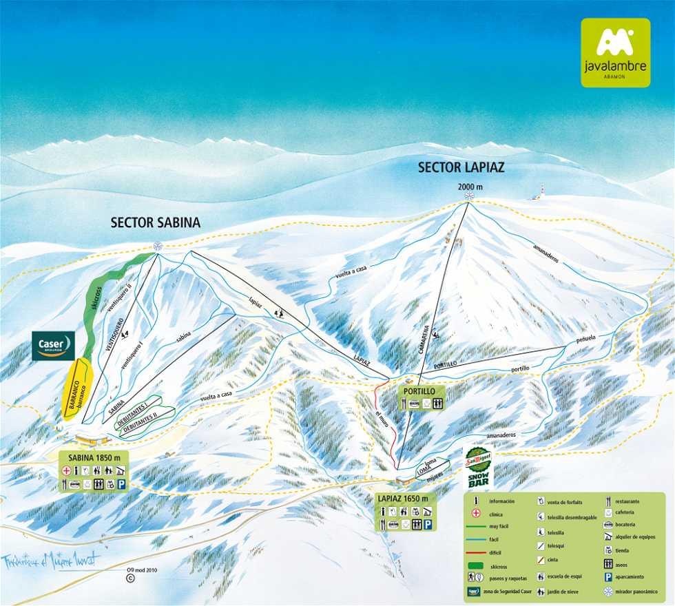 Atracción turística en Estación de esquí de Javalambre