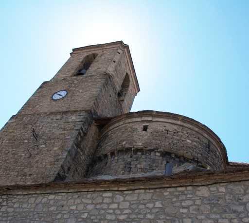 Historia antigua en Iglesia Parroquial de San Martín de Hecho
