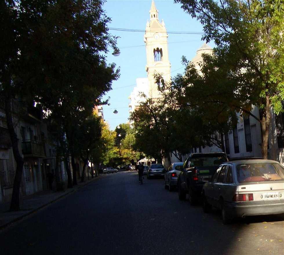 Barrio en Hospital Provincial y Capilla San José de la Caridad