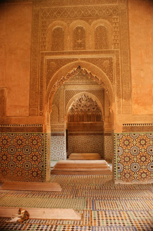 Synagogue in Saadian Tombs