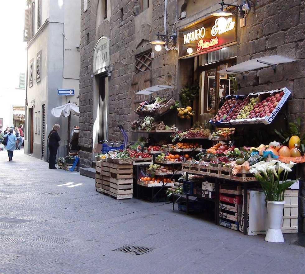 Calle en Ruas de Florencia