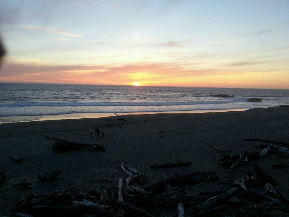 Atardecer en Lincoln City