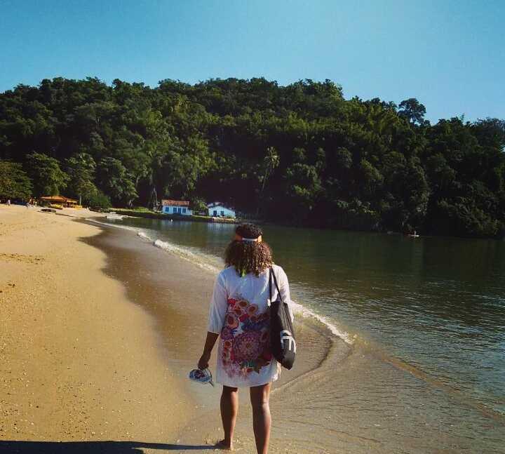 Azul em Praia do Jabaquara