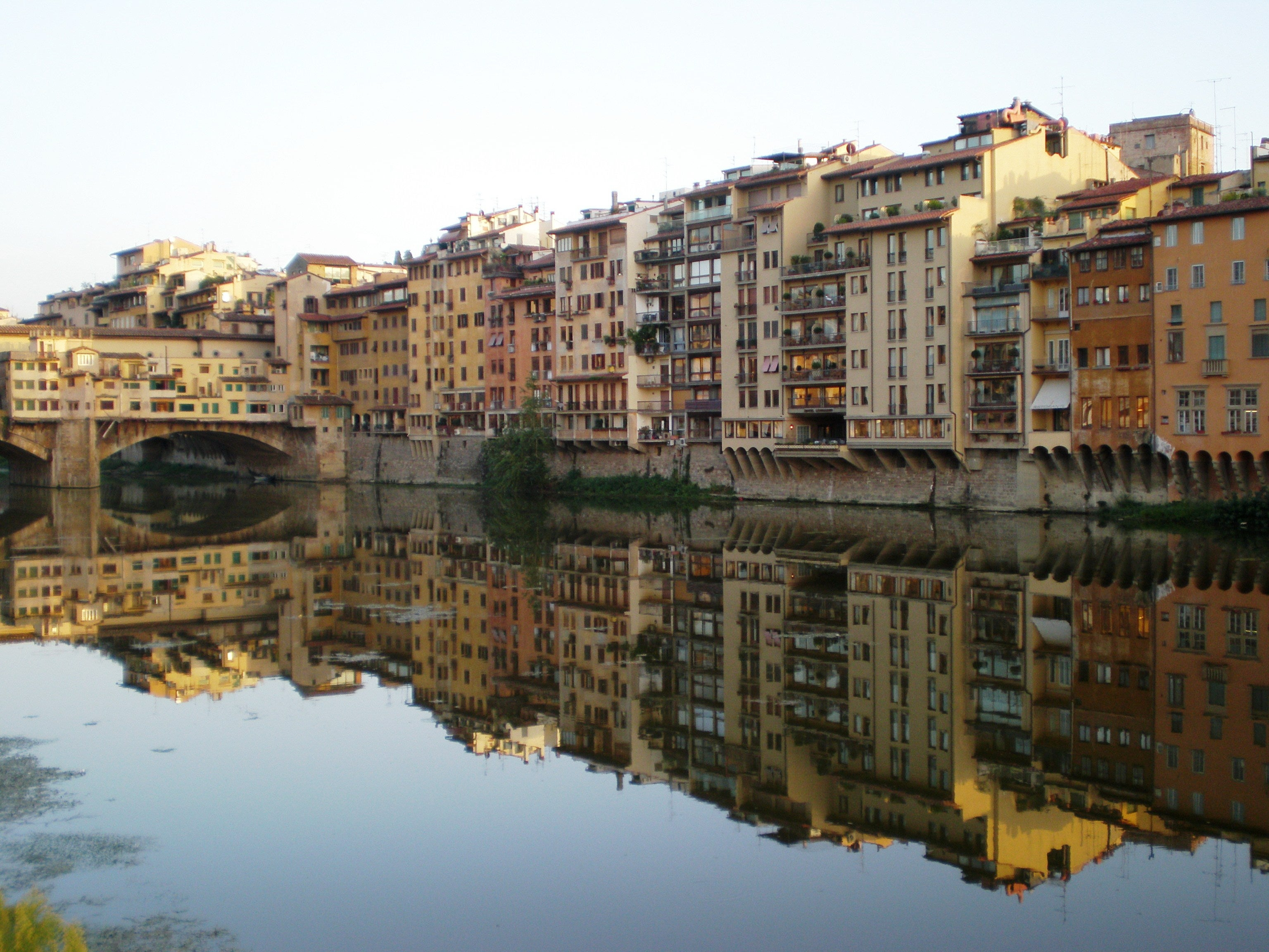 Reflection in Florence