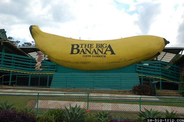 Parco a The great banana