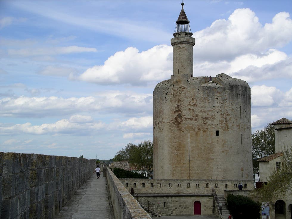 Sky in Aigues-Mortes