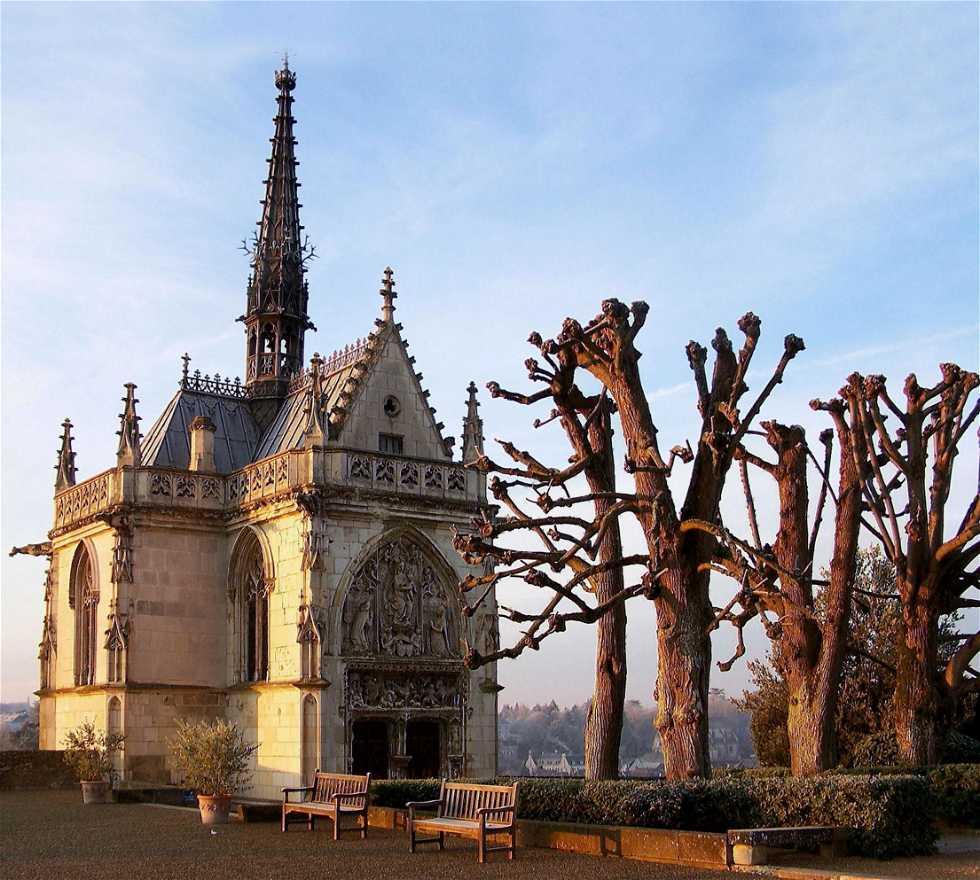 Catedral en Castillo Real de Amboise