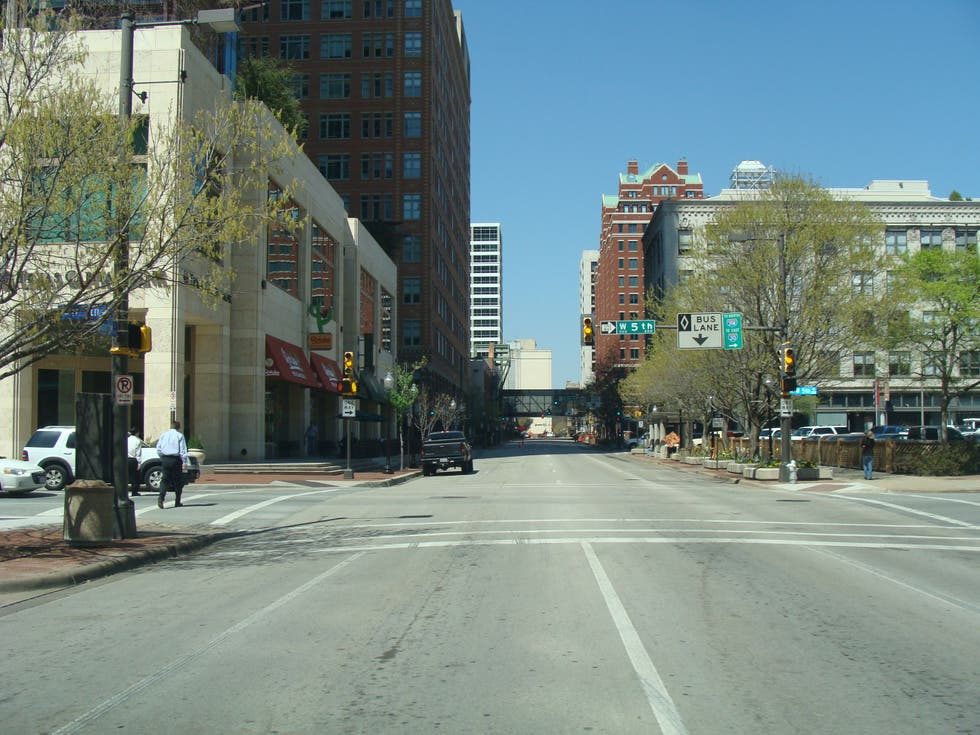 Ciudad en Houston Street