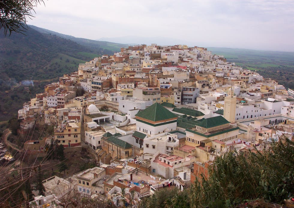 Pueblo en Moulay Driss Zerhoun