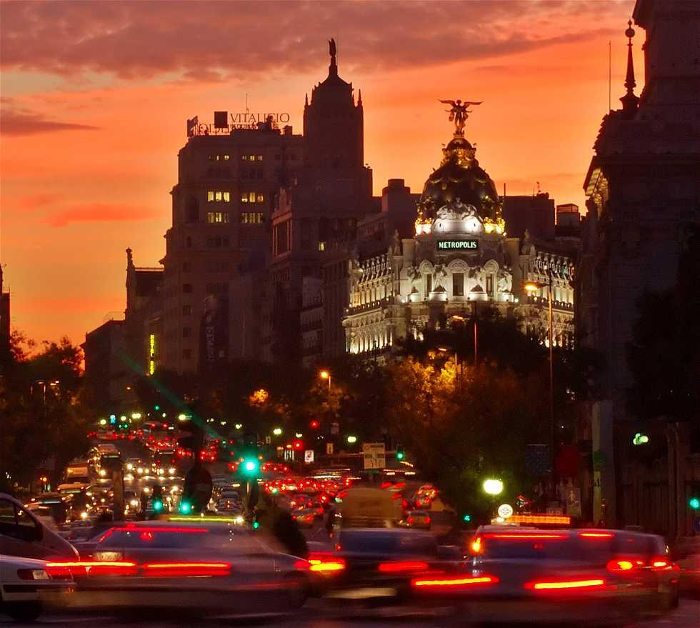 Oscuridad en Madrid