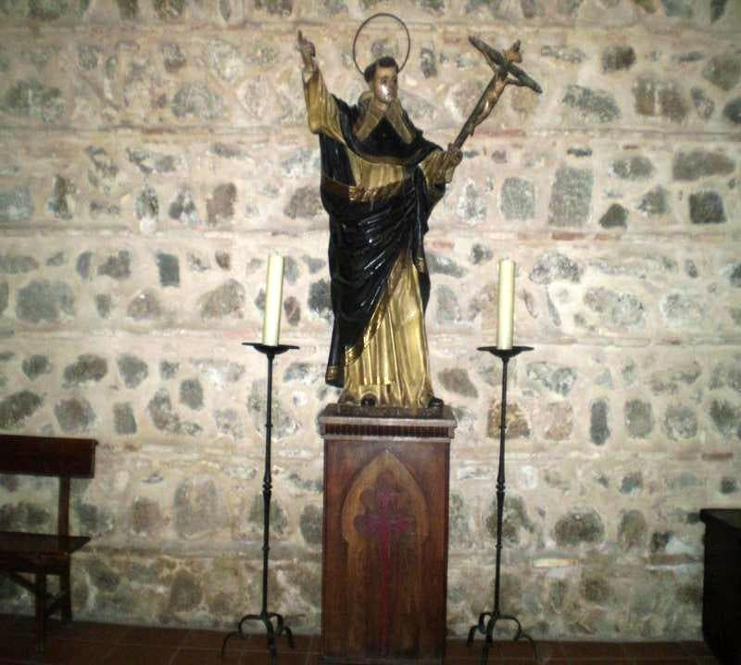 Escultura en Iglesia De Santiago Del Arrabal