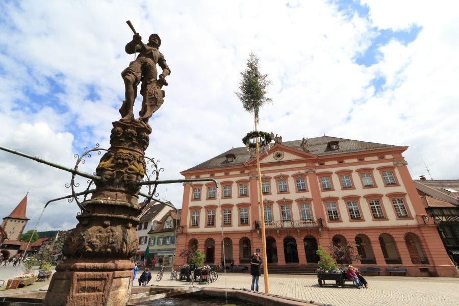 Square in Gengenbach